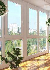 балкон пластиковый