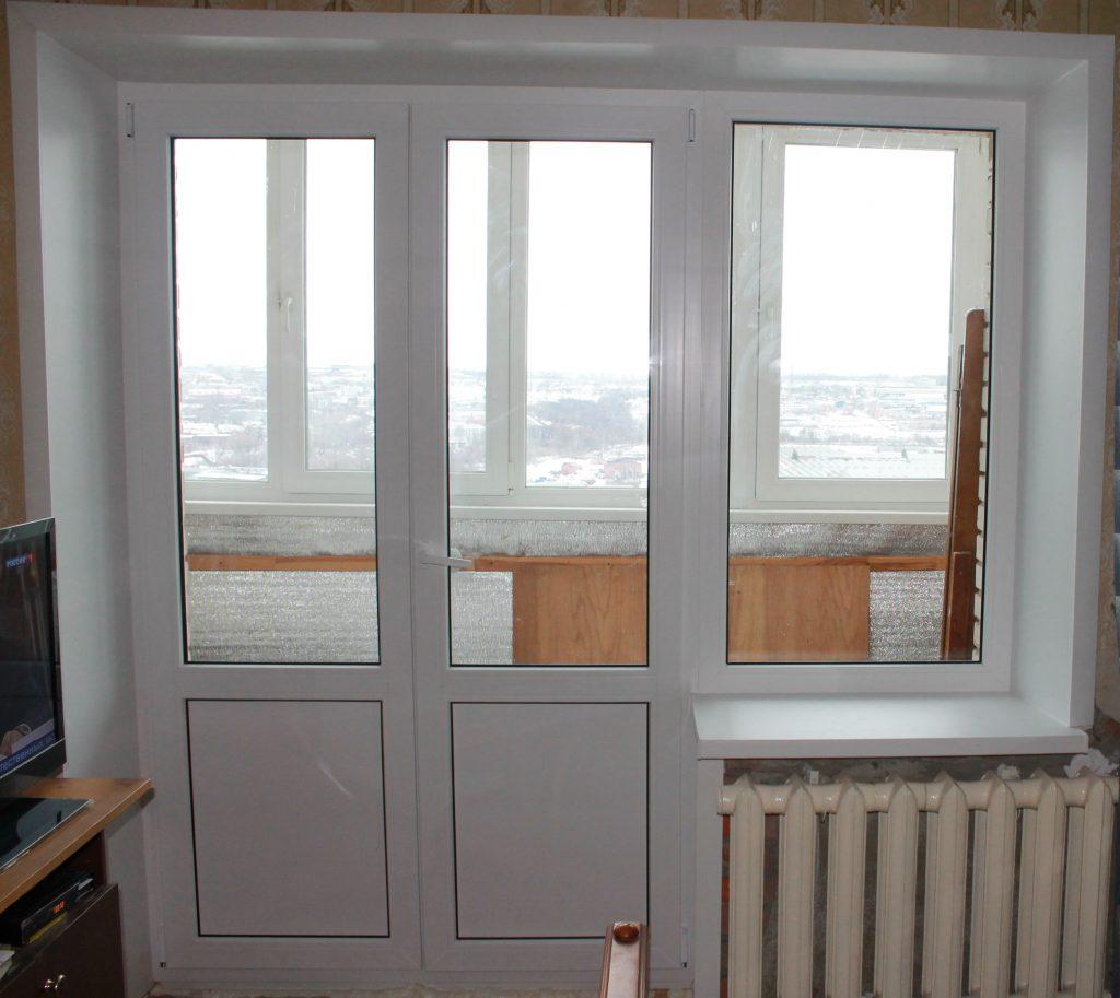 Виды балконных блоков:
