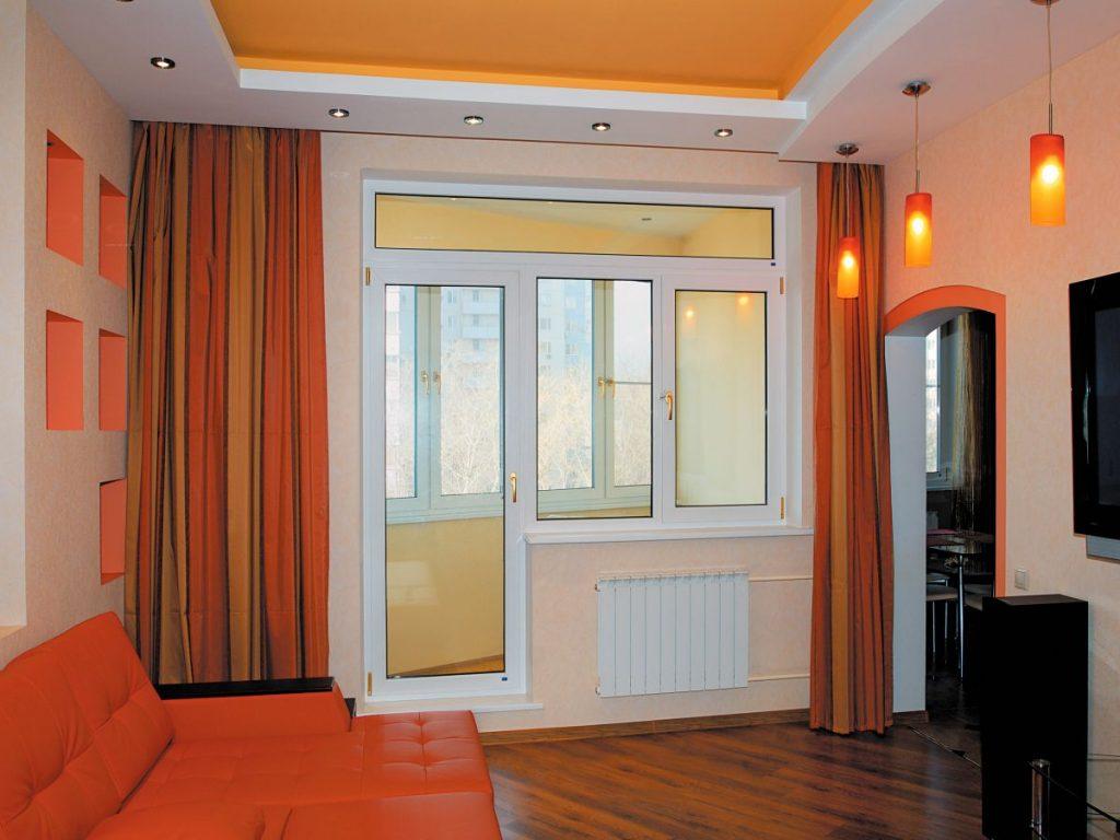 Двери на балкон в Харькове