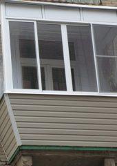 остекление балконов с выносом киев