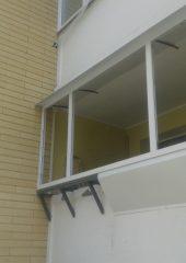 остекление балконов с выносом в киеве