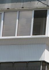 остекление балконов вынос
