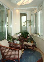 мягкая мебель для балкона