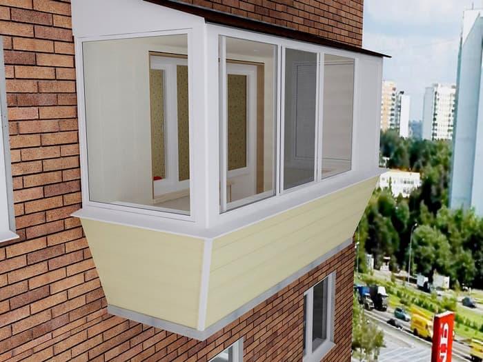 Как увеличить балкон: варианты расширения