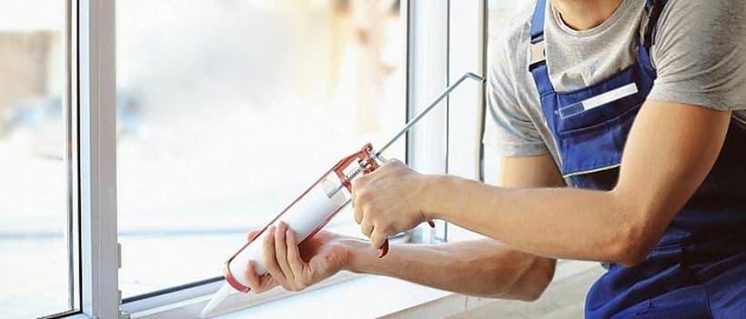 Как герметизировать металлопластиковые окна